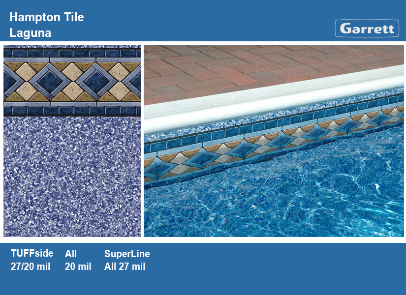 Vinyl tile flooring patterns